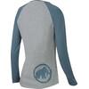 Mammut W's Logo Longsleeve stone grey-chill